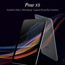 CUBE Freer X9 4GRAM 64GB BT WQXGA(2560 x 1600)液晶搭載 8.9インチ Android6.0
