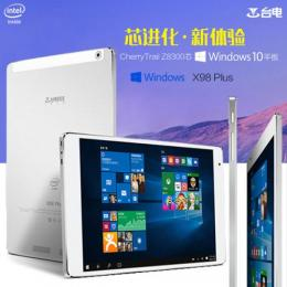 Teclast X98 Plus Windows10 64GB RAM4G T3 Z8300 Retina液晶 BT搭載