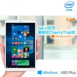Teclast X80 Plus Windows10 32GB RAM2G T3 Z8300 BT搭載