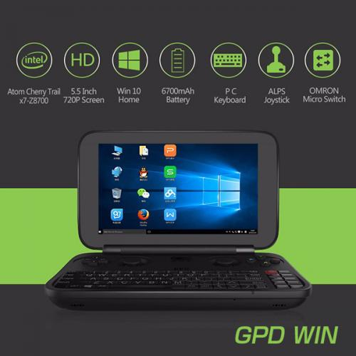 GPD WIN Z8750 Windows 10 4GB/64GB Gamepad Tablet PC