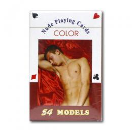 Nude Men Playing Card