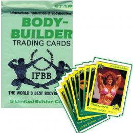 BODY-BUILDER TRADING CARDS