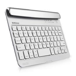 7.9インチ、iPad mini、Androidタブレット、差し込み型Bluetoothキーボード HB045 ホワイト