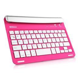 7.9インチ、iPad mini、Androidタブレット、差し込み型Bluetoothキーボード HB045 ピンク