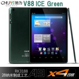 CHUWI V88 四核 Titanium ice green RAM2GB IPS液晶 Android4.2